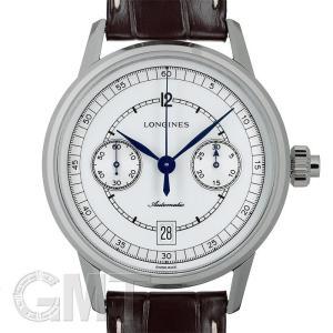 ロンジン ヘリテージ クロノグラフ ホワイト L2.800.4.26.2 LONGINES 新品 メンズ  腕時計  送料無料  年中無休|gmt