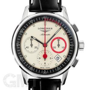 ロンジン ヘリテージ コラムホイール クロノグラフ レコード アイボリー L4.754.4.72.4 LONGINES 新品 メンズ  腕時計  送料無料  年中無休|gmt