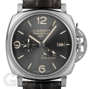 パネライ ルミノール ドゥエ 3デイズ GMT パワーリザーブ オートマチック アッチャイオ PAM00944 OFFICINE PANERAI 新品 メンズ  腕時計|gmt