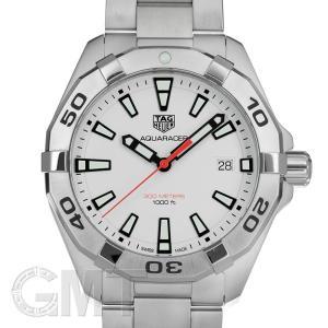 タグホイヤー アクアレーサー 300m ホワイト 41mm クォーツ WBD1111.BA0928 TAG HEUER 新品 メンズ  腕時計  送料無料  年中無休|gmt