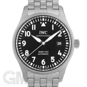 IWC パイロットウォッチ マークXVIII ブラック IW327015 IWC 新品 メンズ  腕時計  送料無料  年中無休|gmt