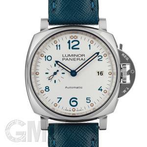 パネライ ルミノール ドュエ 3デイズ オートマティック アッチャイオ PAM00906 OFFICINE PANERAI 新品 メンズ  腕時計  送料無料  年中無休|gmt