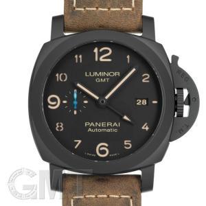 パネライ ルミノール1950 3DAYS GMT オートマティック 44mm PAM01441※ OFFICINE PANERAI 【新品】【メンズ】 【腕時計】 【送料無料】 【年中無休】 gmt