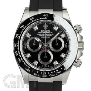ロレックス デイトナ 116519LNG ブラック 8Pダイヤ オイスターフレックス ROLEX 【新品】【メンズ】 【腕時計】 【送料無料】 【年中無休】|gmt