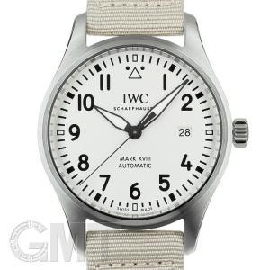 IWC パイロットウォッチ マーク18 IW327017 ベージュナイロン IWC 【新品】【メンズ】 【腕時計】 【送料無料】 【年中無休】|gmt