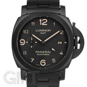 PANERAI パネライ ルミノール GMT 44mm トゥットネロ PAM01438 OFFICINE PANERAI 【新品】【メンズ】 【腕時計】 【送料無料】 【年中無休】|gmt