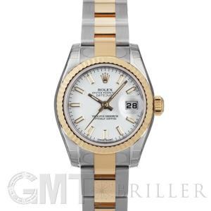 ロレックス デイトジャスト 179173 ホワイト ROLEX 【新品】【レディース】 【腕時計】 【送料無料】 【年中無休】|gmt