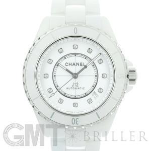 シャネル J12 ホワイト セラミック 12Pダイヤ H5705 38mm CHANEL 【新品】【メンズ】 【腕時計】 【送料無料】 【年中無休】|gmt