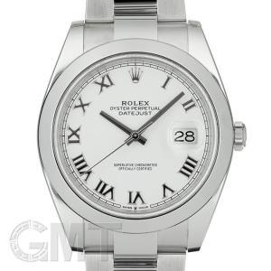 ロレックス デイトジャスト41 ホワイト ローマ 126300 オイスターブレス ROLEX 【新品】【メンズ】 【腕時計】 【送料無料】 【年中無休】|gmt