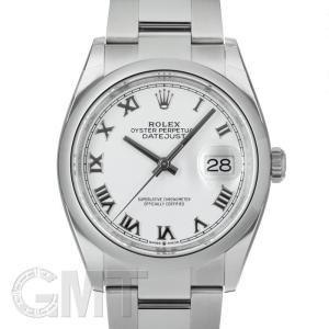 ロレックス デイトジャスト 36 126200 ホワイトローマ オイスターブレス ROLEX 【新品】【メンズ】 【腕時計】 【送料無料】 【年中無休】|gmt