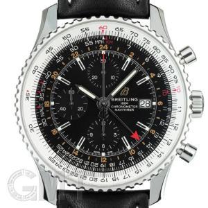 ブライトリング ナビタイマー1 クロノグラフ GMT46 ブラック A242B-2KBA BREITLING 【新品】【メンズ】 【腕時計】 【送料無料】 【年中無休】|gmt