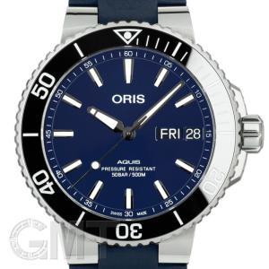 オリス アクイス デイト 752 7733 4135R ブルーダイヤル ブルーラバー 45.5mm ORIS 【新品】【メンズ】 【腕時計】 【送料無料】 【年中無休】|gmt