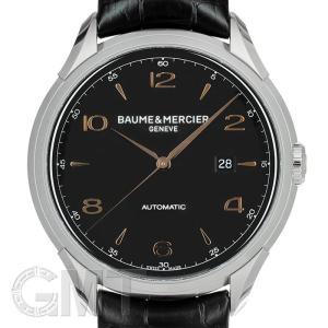 ボーム&メルシエ クリフトン オートマティック ブラック MOA10366 BAUME & MERCIER 【新品】【メンズ】 【腕時計】 【送料無料】 【年中無休】|gmt