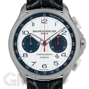 ボーム&メルシエ クリフトン クロノグラフ フライバック ホワイト MOA10368 BAUME & MERCIER 【新品】【メンズ】 【腕時計】 【送料無料】 【年中無休】|gmt