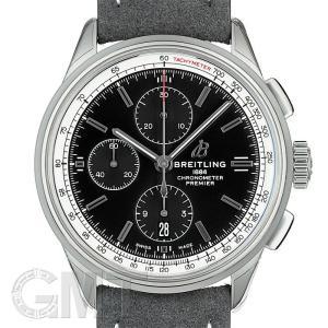 ブライトリング プレミエ クロノグラフ42  A117B-1WAA ブラック BREITLING 【新品】【メンズ】 【腕時計】 【送料無料】 【年中無休】|gmt