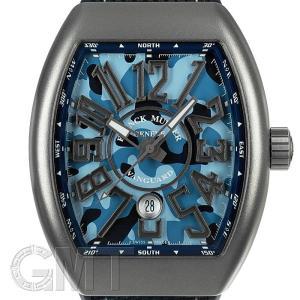 フランクミュラー ヴァンガード カモフラージュ V45SCDT MC BL CAMO ブルー FRANCK MULLER 【新品】【メンズ】 【腕時計】 【送料無料】 【年中無休】|gmt