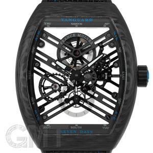 フランクミュラー ヴァンガード 7デイズ カーボン ブルー V45S6 SQT CARBON BL FRANCK MULLER 【新品】【メンズ】 【腕時計】 【送料無料】 【年中無休】|gmt