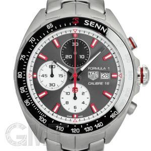 タグホイヤー フォーミュラー1 Cal.16 クロノグラフ アイルトン・セナ スペシャルエディション CAZ2017.BA0647 TAG HEUER 【新品】【メンズ】 【腕時計】|gmt