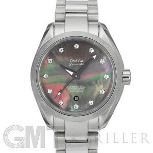 オメガ シーマスター アクアテラ コーアクシャル 34MM 231.10.34.20.57.001 ブラックシェル OMEGA 新品レディース 腕時計 送料無料|gmt