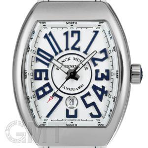 フランクミュラー ヴァンガード ホワイト/ブルー V45SCDT FRANCK MULLER 新品メンズ 腕時計 送料無料 年中無休|gmt