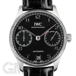 IWC ポルトギーゼ 7DAYS ブラック IW500703 IWC 中古 メンズ  腕時計  送料無料  年中無休 |gmt
