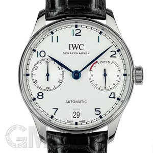 IWC  ポルトギーゼ オートマティック 7DAYS IW500705 IWC 【中古】【メンズ】 【腕時計】 【送料無料】 【年中無休】|gmt