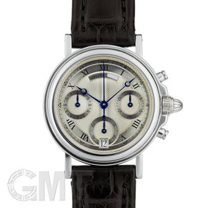 ブレゲ マリーンI I クロノグラフ 3460BB/12/996 ホワイトゴールド ダイヤバックル仕様 BREGUET 中古メンズ 腕時計 送料無料 年中無休|gmt