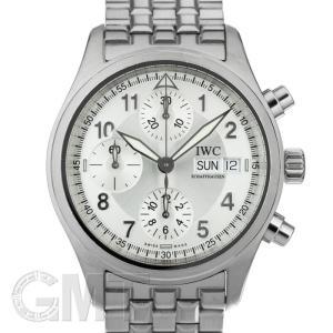 IWC スピットファイア  クロノグラフ フリーガー シルバー IW370628 IWC 中古メンズ 腕時計 送料無料 年中無休|gmt