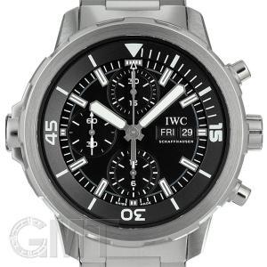 IWC アクアタイマークロノグラフ IW376804 ブラック  IWC 【中古】【メンズ】 【腕時計】 【送料無料】 【年中無休】|gmt