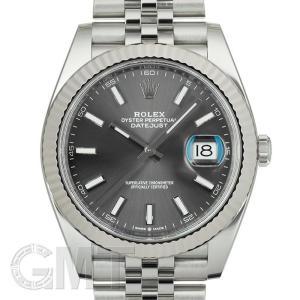 ロレックス デイトジャスト 41 126334 ダークロジウム ジュビリーブレスレット ROLEX 【中古】【メンズ】 【腕時計】 【送料無料】 【年中無休】|gmt