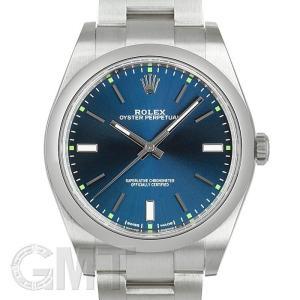 【未使用品/保護シールなし】ロレックス オイスター パーペチュアル 39 114300 ブルー ROLEX 【未使用品】【メンズ】 【腕時計】 【送料無料】 【年中無休】|gmt