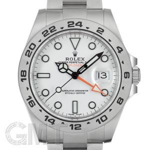 ロレックス エクスプローラー II 216570 ホワイト  ROLEX 【中古】【メンズ】 【腕時計】 【送料無料】 【年中無休】|gmt