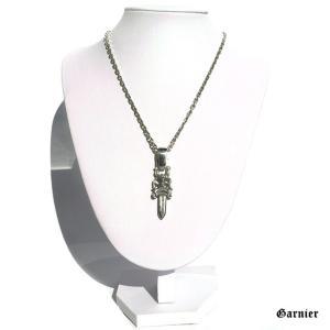 ◆トルソー マネキン ネックレススタンド Mサイズ  ◆サイズ:幅18cm x 高さ25cm x 奥...