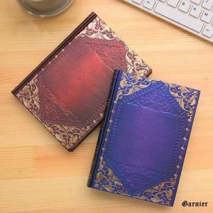 ◆アンティーク洋書風 ノート  ◆アンティーク洋書風の落ち着いたデザインで雰囲気のあるオシャレなノー...