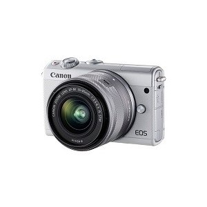 CANON EOS M100 EF-M15-45 IS STM レンズキット [ホワイト][新品][...