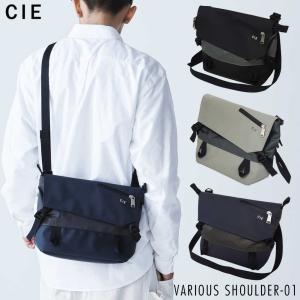 ショルダーバッグ メンズ メッセンジャー 斜め掛け CIE VARIOUS SHOULDER-01 ...