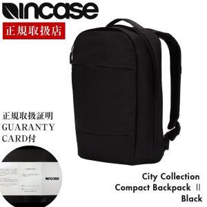incase インケース City Compact Backpack II リュック バックパック デイパック ビジネスバッグ ビジネスリュック Macbook Pro 15インチ|gnine