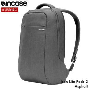 incase インケース Icon Lite Pack 2 リュック バックパック Macbook Pro 15インチ Asphalt|gnine