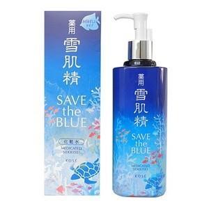 国内正規品 KOSE 雪肌精 化粧水 500ml みずみずしいタイプ [SAVE the BLUEデザインボトル] コーセー|go-sign