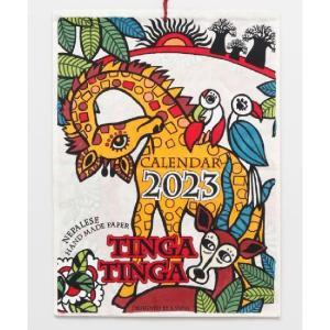 カレンダー2018壁掛け TINGA TINGA  アフリカ...
