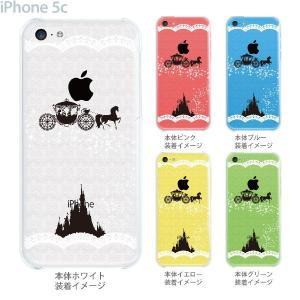 iPhone5c ケース カバー スマホケース クリアケース シンデレラ 08-ip5c-ca0093a gochumon