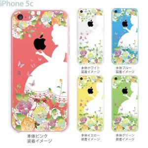 iPhone5c ケース カバー スマホケース クリアケース 白雪姫 08-ip5c-ca0100b gochumon