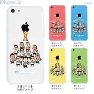 【アルゼンチン】 サッカー iPhone5c ケース カバー スマホケース クリアケース Clear Arts 10-ip5c-fca-all11 gochumon