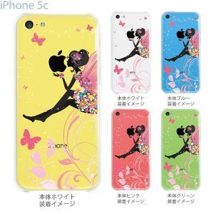 iPhone5c ケース カバー スマホケース クリアケース Clear Arts フェアリー  22-ip5c-ca0094 gochumon