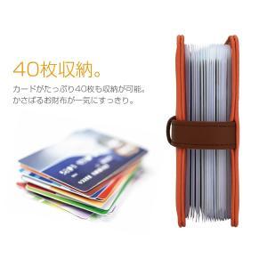 カードケース 40枚以上収納 ポイントカード ...の詳細画像2