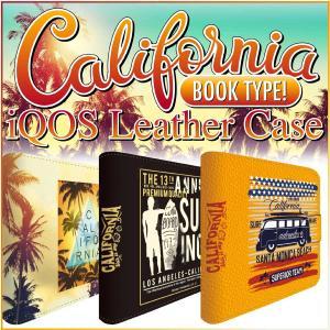 アイコスケース iQOS アイコス 専用 ケース カバー 合皮 レザー ケース  iCOSケース アイコスカバー カリフォルニア iq04-ds007|gochumon
