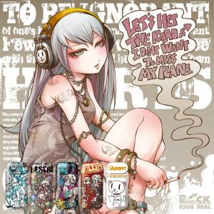 iQOS アイコス シール ケース カバー タバコ 電子タバコ ステッカー アイコスシール iQOSシール 作家 Project.C.K. iqos-008|gochumon