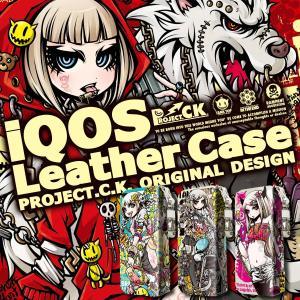 iQOS アイコス 専用 ケース カバー 合皮 レザー ケース ストラップ付 アイコスケース iCOSケース アイコスカバー Projeckt.C.K.  iqos-ds001|gochumon