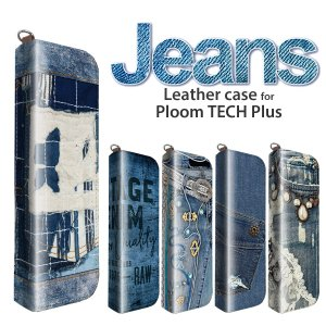 プルームテックプラス ケース プルームテック プラス ケース  Ploom Tech Plus ケース ploomtechケース ジーンズ pt09-002|gochumon