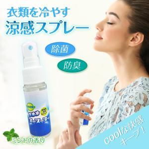 涼感スプレー 冷感スプレー 冷却スプレー 熱射病対策 cool ひんやり 50ml スース―スッ ミント ryoukan-50|gochumon